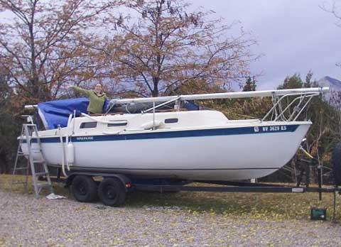Windrose 24 sailboat
