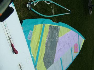 Hobie Alpha 230a windsurfer