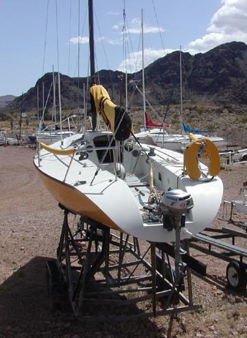 1977 Winesett Zap 29 sailboat