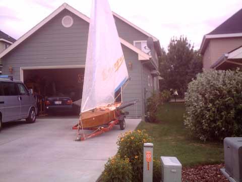 Custom Wing Dinghy, 12' sailboat