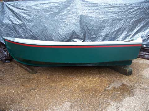 Martha's Tender, a Wooden Boat, Joel White design, 2007
