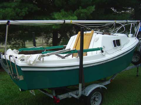 West Wight Potter 15 Sailboat For Sale