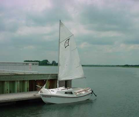 West Wight Potter, 15 sailboat