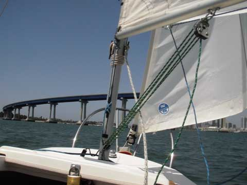 West Wight Potter 15 2004 San Diego California Sailboat