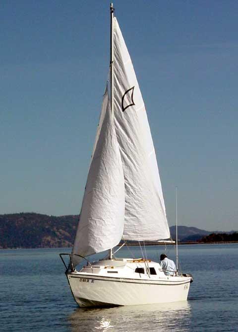 WWP 19 sailboat