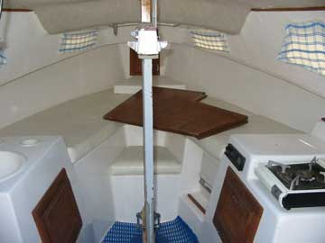 1996 West Wight Potter 19 Sailboat For Sale
