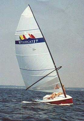 WylieCat 17 sailboat