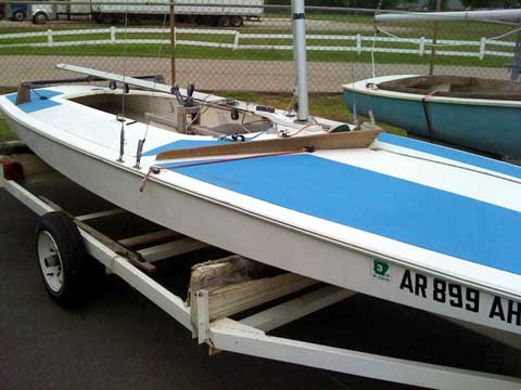 Y Flyer sailboat