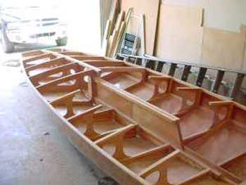 Wooden Lake Scow Y-Flyer