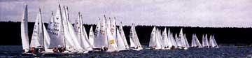 1986 Yngling sailboat