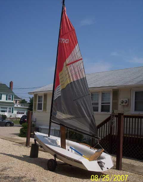 Zuma sailing boat