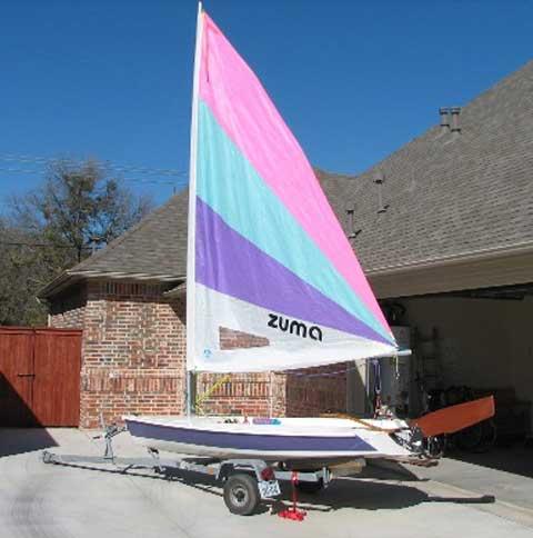 Zuma sailboat