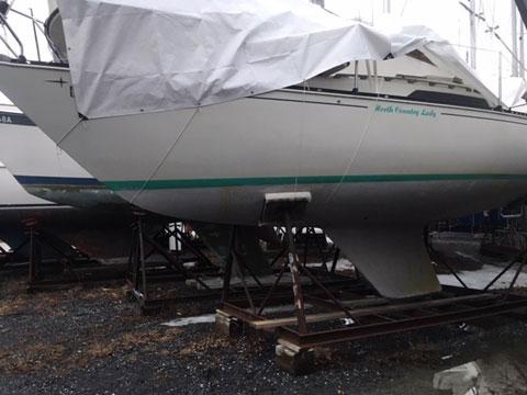 C&C 25, 1986 sailboat