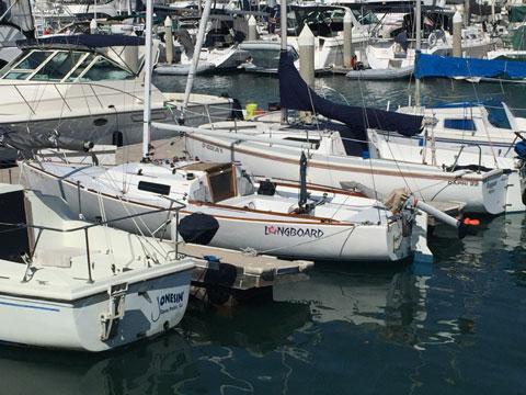 J22, 1985 sailboat