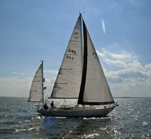 Alberg 37 Yawl, 1986, sailboat