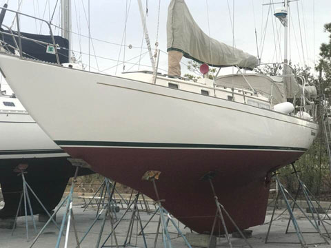 Alberg 37 Yawl, 1986, Kemah, Texas, sailboat for sale from
