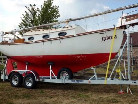 Allegra 24, 1984 sailboat
