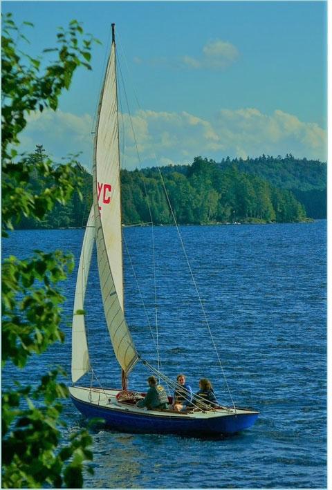 Baay, 24 ft., Corinthian Yacht Club sloop, 1951 sailboat
