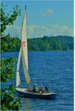 1951 Baay, 24 ft. Corinthian Yacht Club sloop