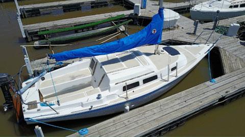 Balboa 24' Fractional Sloop, 1981 sailboat