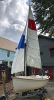 2000 Bauer 12 sailboat