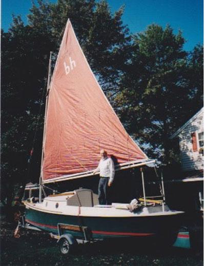 Florida Bay Hen, 1984 sailboat