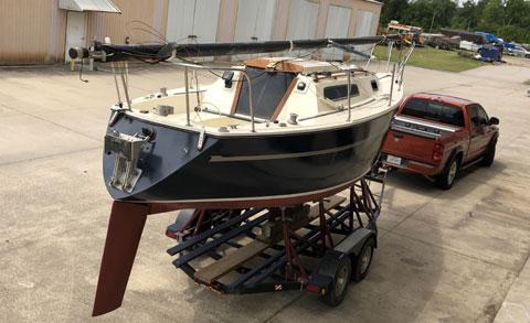 Bayliner 25, 1980 sailboat