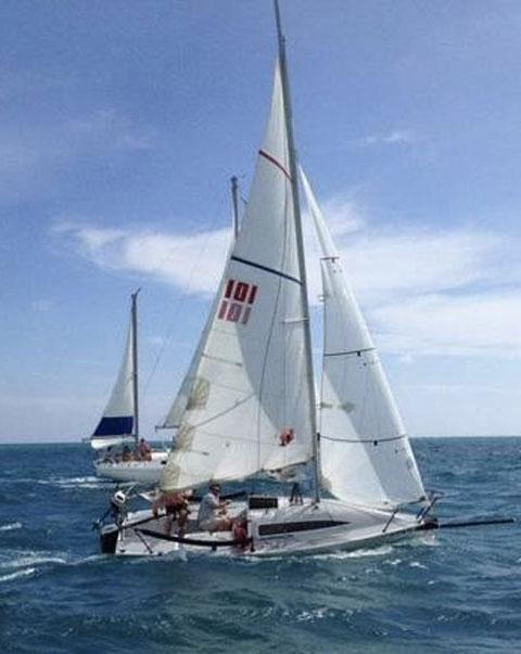 Breakout 20  Sportboat, 1987 sailboat