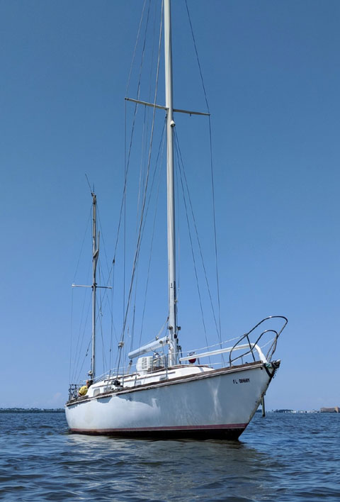 Bristol Yawl, 40 ft., 1977, sailboat