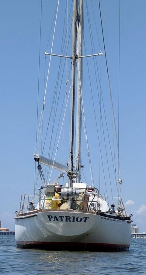 Bristol Yawl, 40 ft., 1977, sailboat