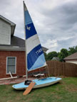 1980 Butterfly sailboat