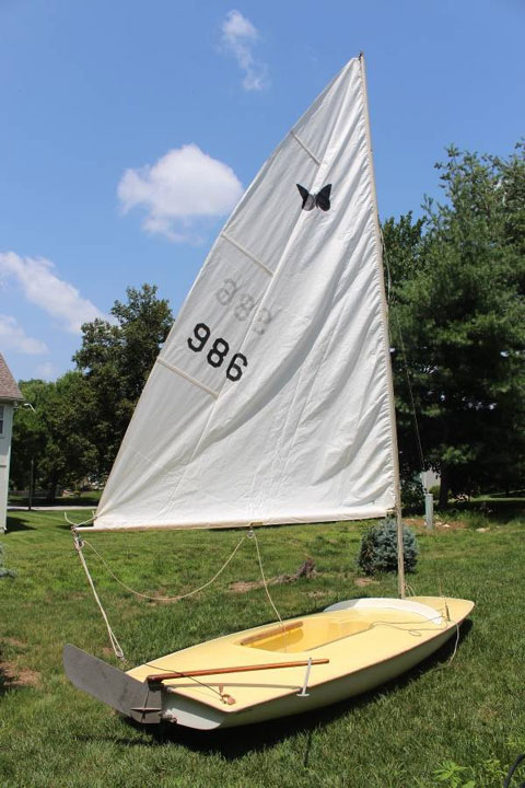 Butterfly, 1967, sailboat