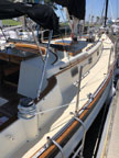 1984 Cabo Rico 38 cutter sailboat