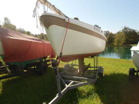 Cal 20, 1970s sailboat