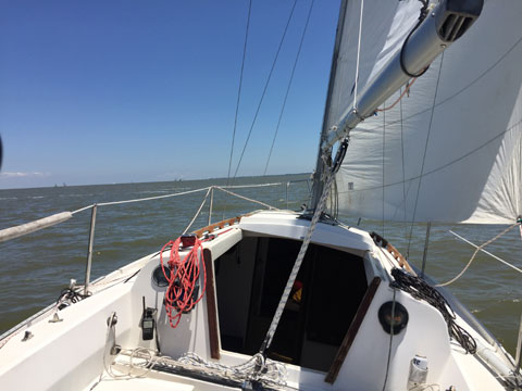 Cal 3-27, sailboat