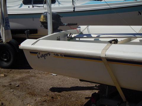 Catalina Capri 16.5', 1996 sailboat
