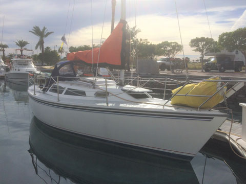 Catalina Capri 26', 1995 sailboat