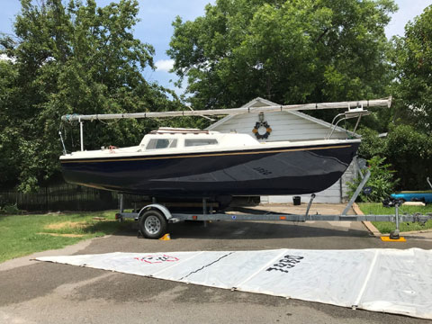 Catalina 22 Mk1, 1977 sailboat