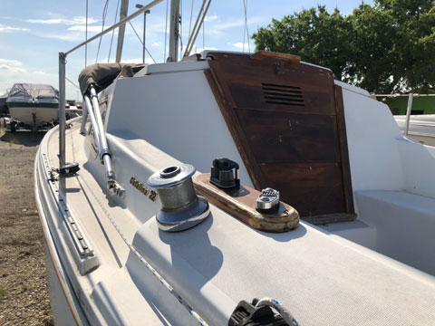 Catalina 22, 1984 sailboat