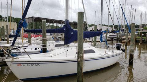Catalina Sport 22, 2007 sailboat