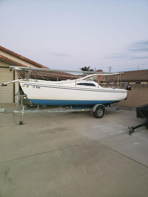 Catalina 22 Sport, 2006 sailboat