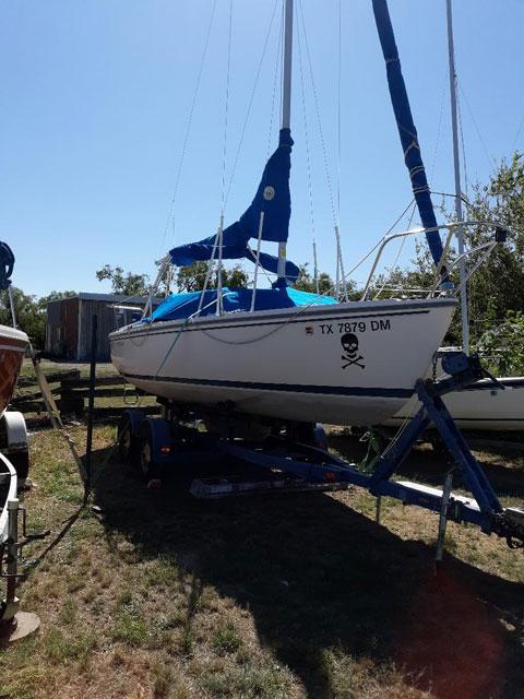 Catalina 22, swing keel, 1992 sailboat