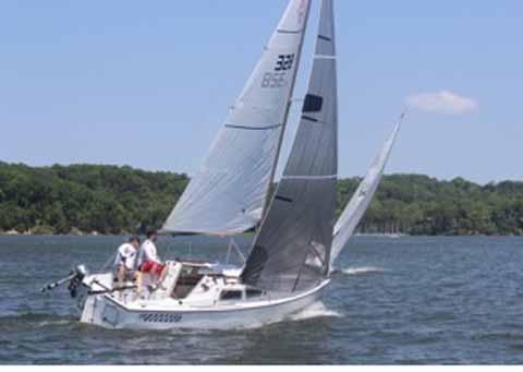 Catalina 22, 1969 sailboat