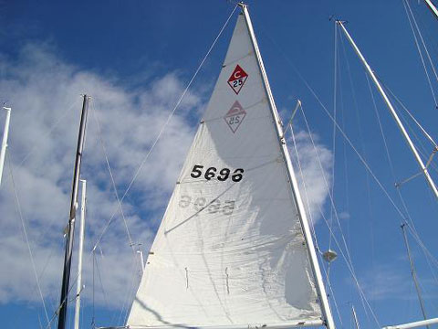 Catalina 25 Wing Keel, 1987, sailboat