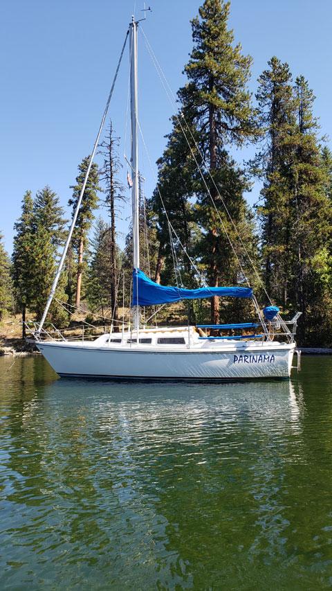 Catalina 27, 1982, sailboat