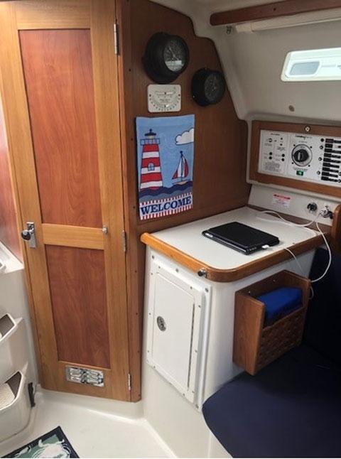Catalina 28 MkII, 1996 sailboat