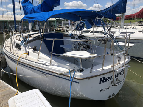 Catalina 30, 1985, Grapevine, Texas, sailboat for sale from