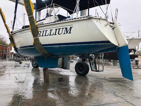 C&C 27 MK V, 1989 sailboat