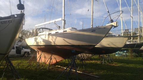 Cheoy Lee Luders 36 sloop, 1969 sailboat