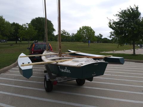 Chesapeake Light Craft Design, 18', 2010 sailboat